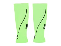 Cep Progressive Night Calf Sleeves 2.0 Flash Green Black Running Sports Equipment