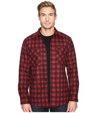 Pendleton Quilted Shirt Jacket Red Plaid Men's Coat