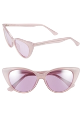 Isaac Mizrahi 52Mm Cat Eye Sunglasses Purple