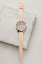 Anthropologie Big Dial Watch Brown