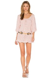 Eberjey Baja Babe Soleil Cover Up Pink