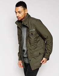 Diesel J Rico Military Field Jacket Khaki Khaki Green
