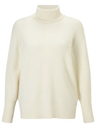 Harris Wilson Teri Roll Neck Jumper Ecru
