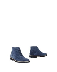 Opening Ceremony Ankle Boots Blue