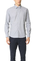 Brooklyn Tailors End On End Dress Shirt Mid Grey