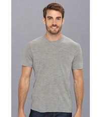 Smartwool Nts Micro 150 Pattern Tee Silver Gray Heather Men's T Shirt