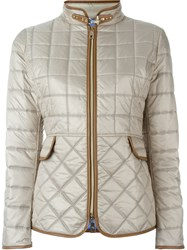 Fay Padded Jacket Nude And Neutrals