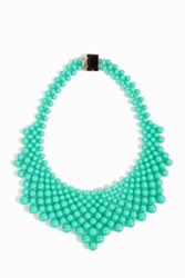 Del Duca Audrey Collar Necklace Green