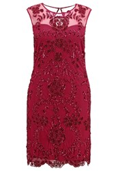 Frock And Frill Curve Samantha Cocktail Dress Party Dress Berry Red