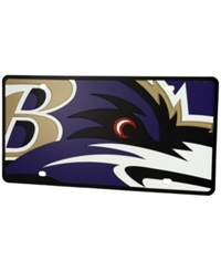 Stockdale Baltimore Ravens Printed License Plate Purple