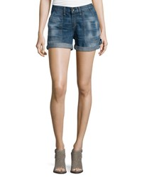 Rag And Bone Carpenter Cuffed Shorts Lanley