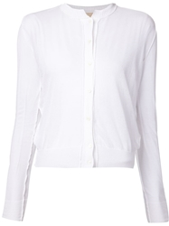 Vanessa Bruno Sheer Cardigan White