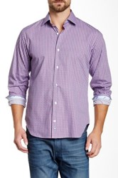 Tailorbyrd Princeton Long Sleeve Woven Shirt Blue