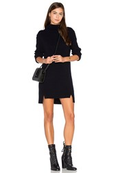 Charli Michelle Sweater Dress Navy