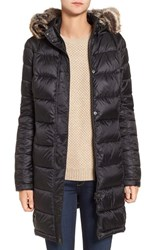 Barbour Women's 'Haven' Faux Fur Trim Hooded Baffle Quilt Coat