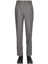 Giorgio Armani 19.5Cm Stretch Fulled Wool Blend Pants