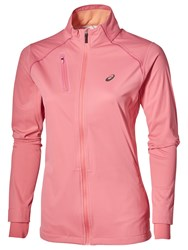 Asics Accelerate Waterproof Women's Jacket Camelion Rose
