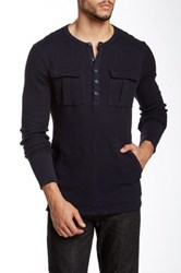 Rogue Thermal Henley Blue