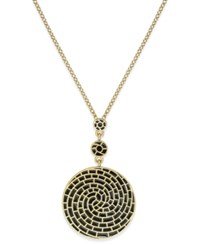 Charter Club Erwin Pearl Atelier For Gold Tone Colored Spiral Necklace Only At Macy's Black