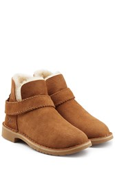Ugg Australia Fold Cuff Ankle Boots Brown