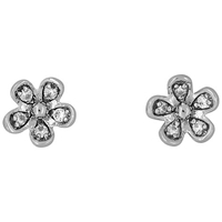 Jools By Jenny Brown Five Petal Pave Stud Earrings