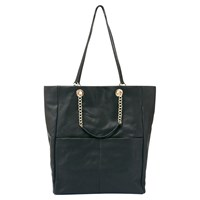 Mint Velvet Cara Shopper Black