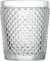 Cb2 Chroma Clear Double Old Fashioned Glass