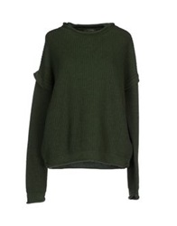 Soallure Sweaters Green