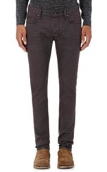 John Varvatos Star U.S.A. Men's Wight Slim Jeans Burgundy