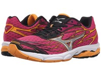 Mizuno Wave Catalyst Fuchsia Purple Silver Blazing Orange Women's Running Shoes Pink