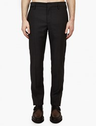 Marc Jacobs Charcoal Wool Trousers