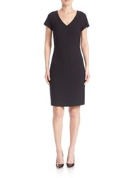 Peserico Double Knit Dress Black