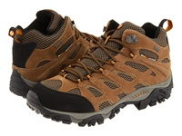 Merrell Moab Mid Waterproof Earth Leather Men's Hiking Boots Brown
