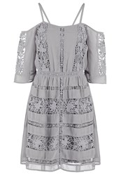 Miss Selfridge Summer Dress Grey