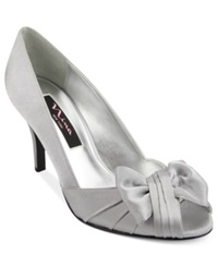 Nina Forbes Evening Pumps Women's Shoes Silver