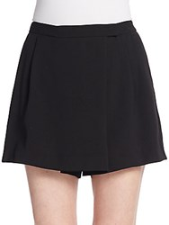 Vince Pleated Mini Skort Black