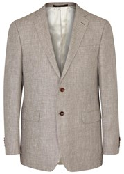 Oscar Jacobson John Brown Linen Blend Blazer