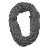 French Connection Chunky Talia Snood Mid Grey Marl