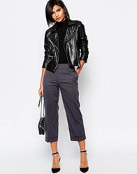 Sisley Cropped Pants In Charcoal 902 Charcoal