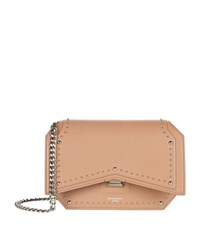 Givenchy Bow Cut Leather Studded Cross Body Bag Female Old Pink