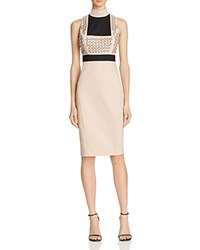 Guess Yvon Embellished Dress Rugby Tan