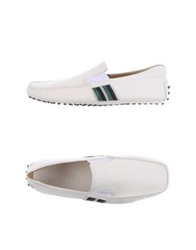 Tod's Moccasins White
