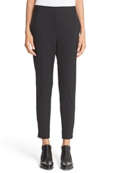 Dkny Women's Crop Stretch Wool Trousers