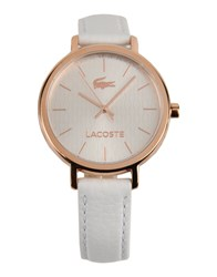 Lacoste Timepieces Wrist Watches Women White
