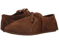 Volcom Downtown Cognac Women's Moccasin Shoes Tan