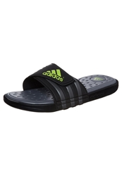 Adidas Performance Adissage Sc Sandals Black Solar Slime Neo Iron