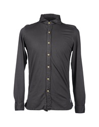 Original Vintage Style Long Sleeve Shirts Lead