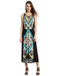 Kenneth Cole Wendy Print Dress Caribbean