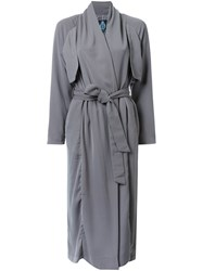 Guild Prime Belted Trench Coat Green