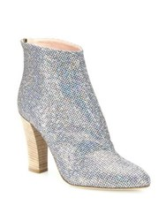 Sarah Jessica Parker Minnie Shimmer Boots Silver